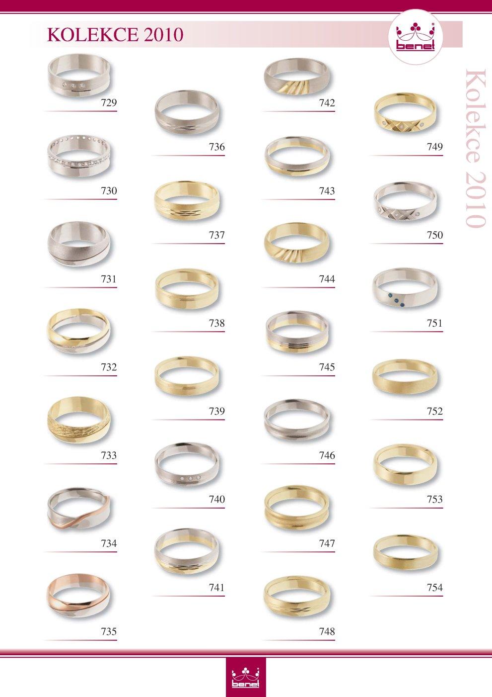Snubni Prsteny Kolekce Benet